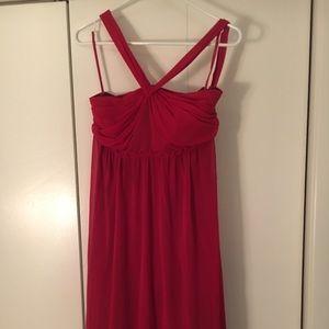 LIMITED Red Halter Cocktail Dress